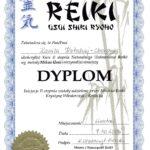 Dyplom Kurs Reiki II st 2009